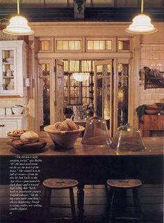 Cool kitchen cloches.