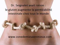 Dr.Seignalet avait raison : le gluten augmente la perméabilité intestinale chez tout le monde Sans Gluten, Crochet Necklace, Crochet Collar