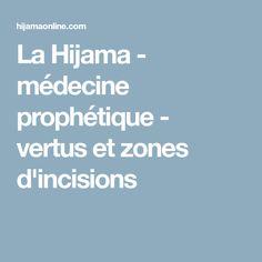 La Hijama - médecine prophétique - vertus et zones d'incisions