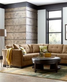 elliot fabric sectional living room furniture collection macyscom - Macys Living Room Furniture