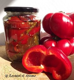 Canning Pickles, Good Food, Yummy Food, Hungarian Recipes, Romanian Recipes, Romanian Food, Pastry Cake, Fermented Foods, Canning Recipes