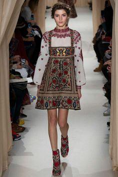 ethno kleidung ethno mode ethno muster Stickerei Kleider Mode, Schöne  Kleider, Russische Mode, 160ca12f94