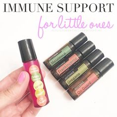 "Came home from a wonderful weekend to a snotty miserable baby so I up our oil routine! Here is my first stop, depending on what oils you have. Pick one that works for you! 1️⃣ My pre made ""Immune Bomb"" rollerball. This has 5 drops each Frankincense, Oregano, Melaleuca, Lemon, and OnGuard. Roll on the bottom of the feet every 1-2 hours. 2️⃣ My Touch Kit rollers. Layering OnGuard, Melaleuca, Oregano and Frankincense on the bottom of his feet every 1-2 hours. --------------------------------..."
