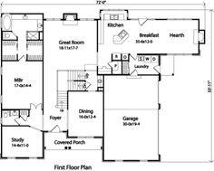 Plan No.414099 House Plans by WestHomePlanners.com