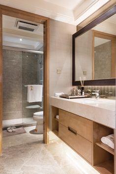 Extending the bathroom area