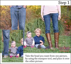 Photoshop tip: how to swap heads in an image