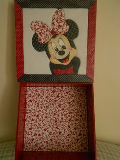 Caixa Patch sem Agulha Minnie