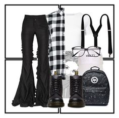 """""""Something Different"""" by ari-ellah ❤ liked on Polyvore featuring Rosetta Getty, Golden Goose, Marco de Vincenzo and Dr. Martens"""