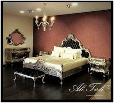 Klasik ve modern desenlerin harmonisini sizlerle buluşturmaktan mutluluk duyuyoruz. | We present you the best harmony of modern and classic designs of velvet with pleasure.  #alitirliinteriorsfurniture #homedecor #mimar  #livingroomdecor #showroom #home #yatakodasi #ankara #masko #florya #hali #homeinterior #interiors #yatakbaşi #classic #furniture #yesilkoy #gardrop #mobilya #perde #istanbul #holiday #holidaydecor #yatakodasitakimi #modoko #luxury #interiorsdesign #klasikmobilya