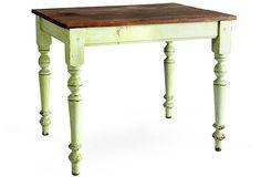 $1500 on sale for $799  Pine Table w/ Turned Legs on OneKingsLane.com