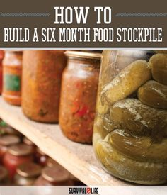 "Despite what you often see on TV and in the movies, stockpiling food is not only for those with conspiracy theories or living through a zombie apocalypse. It is now a part of life for those of us who are ""what if"" people or those with very strict budgets."