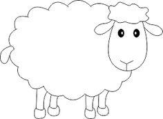 Eid Crafts, Bible Crafts, Craft Stick Crafts, Easter Crafts, Sheep Drawing, Sheep Cartoon, Diy Cadeau, Christian Crafts, Baby Embroidery