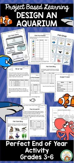 Project Based Learning that includes engaging math and language activities. Perfect for those last few weeks of school! Problem Based Learning, Project Based Learning, End Of Year Activities, Math Activities, Elementary Teacher, Elementary Schools, English Projects, School Site, Math 5