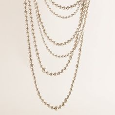 J Crew layered pearl necklace $98