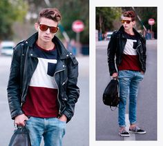 Keep calm Outfit. Are you tired of wearing same and mainstream outfits every day? Do you ... Then it is high time to get inspiration. #mensfashion