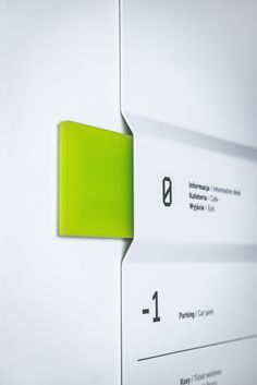 Signage Design Wayfinding in the Silesian Museum, Katowice, Poland by Blank Studio. Click image for Signage Display, Retail Signage, Signage Design, Brewery Design, Directional Signage, Wayfinding Signs, Environmental Graphic Design, Environmental Graphics, Corporate Design