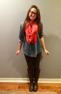 Cute but comfy outfit. :)