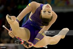 Toronto, On- JULY 18, 2015 Columbia's Lina Dussan competes in the 2015 Pan Am Games rhythmic gymnastics individual all-around final in Toronto. Lucas Oleniuk-Toronto Star