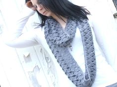 Waiting For Spring Infinity Cowl Crochet Pattern by PandiasJewels, $5.00