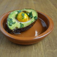 What's for dinner: Baked egg in an avocado. This is not your usual breakfast. With this breakfast, you will impress your boyfriend or girlfriend.