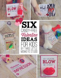 6 Candy-Free Valentine Ideas for Kids