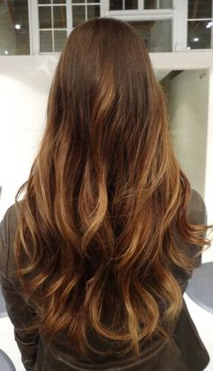 sunkissed balayaged brunette by Sarah Conner