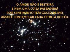 O amor...