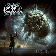"""Artwork of the """"Incurso"""" album by Swedish Technical Death Metal band Spawn of Possession"""