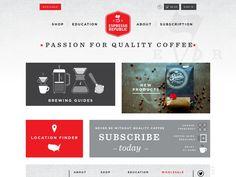 Espresso Republic, coffee subscriptions and wholesale website. Location Finder, Coffee Subscription, Going To Work, Espresso, Brewing, Education, Website, Espresso Coffee, Onderwijs