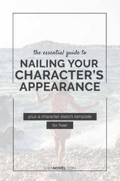 The Essential Guide To Nailing Your Character's Appearance (plus a character sketch template) Book Writing Tips, Writing Process, Writing Resources, Writing Help, Writing Skills, Writing Ideas, Writing Characters, Writers Write, Fiction Writing
