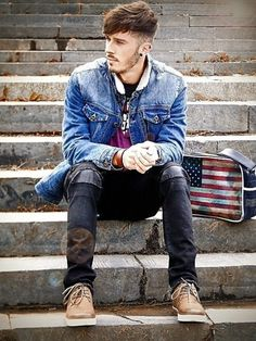 Men's Street Style Outfits For Cool Guys (1)