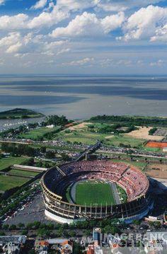 River Plate Stadium. Buenos Aires. Argentina