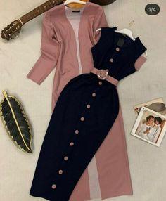 Modest Fashion Hijab, Modern Hijab Fashion, African Fashion Dresses, Muslim Fashion, Stylish Work Outfits, Stylish Dresses For Girls, Classy Outfits, Girls Fashion Clothes, Fashion Outfits