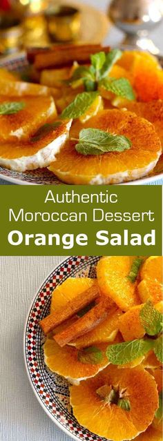 Morocco: Orange Salad with Cinnamon - Sharon Adams - Morocco: Orange Salad with Cinnamon Moroccan orange salad with cinnamon is a combination of soft and subtle flavors that perfectly complement an often rich and hearty North African meal. Moroccan Desserts, Moroccan Dishes, Moroccan Recipes, Morrocan Food, Morrocan Table, Moroccan Vegetables, Couscous Healthy, African Dessert, Cinnamon Recipes