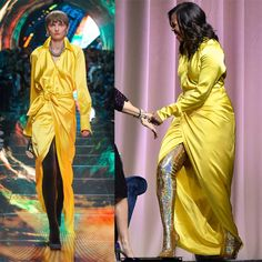 Michelle Obama in Balenciaga Spring 2019 + thigh high gold embellished boots? I'm officially deceased 💀 😍. Michelle Obama Ugly, Michelle Obama Fashion, Barrack And Michelle, Barak And Michelle Obama, Strong Black Man, Barack Obama Family, Balenciaga Spring, Ugly Outfits, Love Fashion