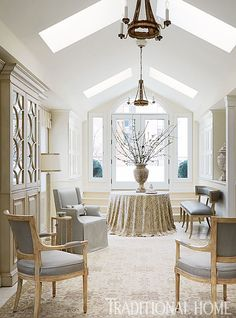 Stunning Chicago Home in Quiet Colors | Traditional Home