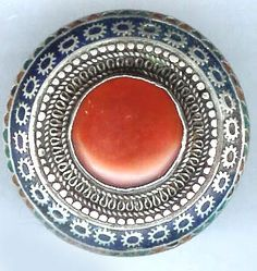 Multon ring with carnelian center Pakistan (private collection Linda Pastorino)