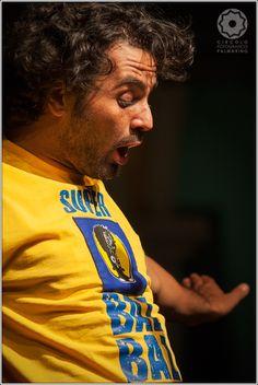 #Baz il #personaggio #storico di #Marco #Bazzoni #live per noi al #Palmanova #Outlet http://www.palmanovaoutlet.it/