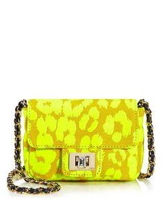 Neon Leopard Mini Shoulder Bag - Juicy Couture