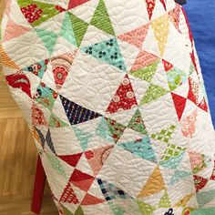 bonniecottonway's beautiful Snippet's quilt! It's made with all the lines that Bonnie & Camille (@thimbleblossoms) have released