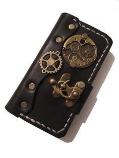 Papyrus Crafts Victorian Steampunk iPhone Case | Ebook Friendly