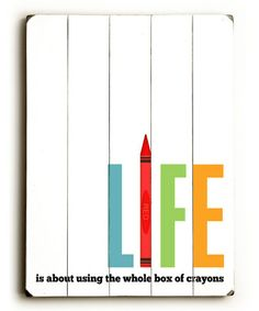 'Life' Wall Art by ArteHouse