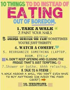 Bored? Step away from the kitchen & try these activities instead!