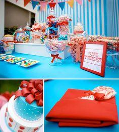 carnival theme, cute cake