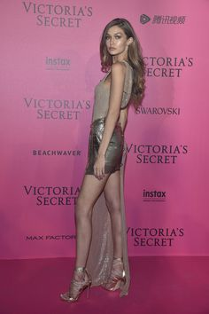 Gigi Hadid Draped in Gold - Every Stunning Look from the Victoria's Secret Fashion Show After Party - Photos