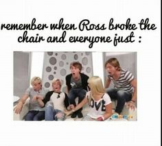 He didnt break the chair he broke Riker's microphone < haha i really thought he had broke the couch lol