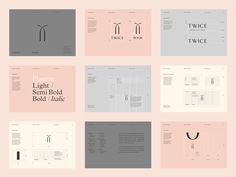Twice Fashion — The Dieline - Branding & Packaging Design