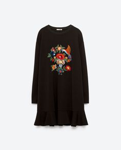 Image 8 of EMBROIDERED DRESS from Zara