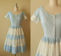 """Baby Blue! A little """"Sarah, Plain and Tall"""" ish, but I think it would look adorable on!"""