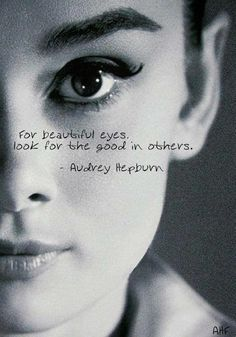 Audrey: Beautiful inside and out!